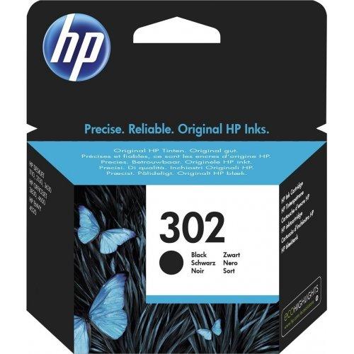 HP No302 F6U66AE Μελάνι Injet Μαύρο