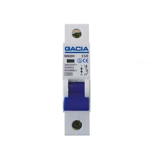 GACIA 500-42026 Αυτοματάκι Μονοπολικό 40A 6KA 0013223
