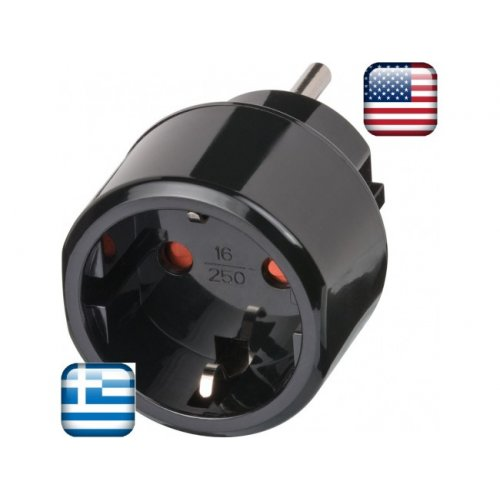 BRENNE 1508550 Αντάπτορας Μετατροπής Ελληνού σε USA/Japan (25.251)