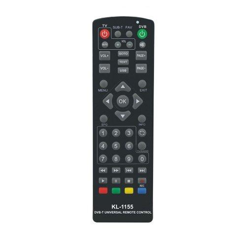Πολυτηλεχειριστήριο  Αποκωδικοποιητών DVB-T, DVB-S KL-1155