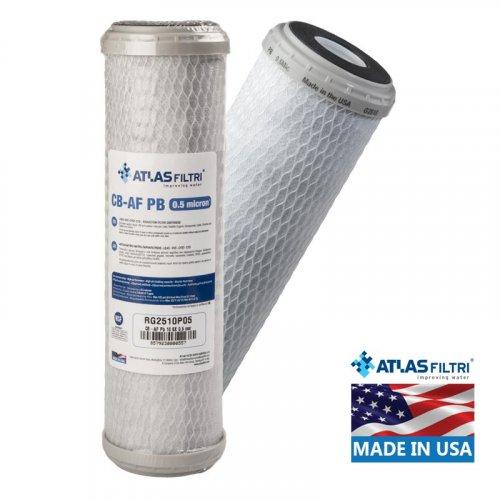 ATLAS FILTRI CB-AF PB SX 0.5μm Φίλτρο Συμπαγούς Ενεργού Άνθρακα (Made in Usa)
