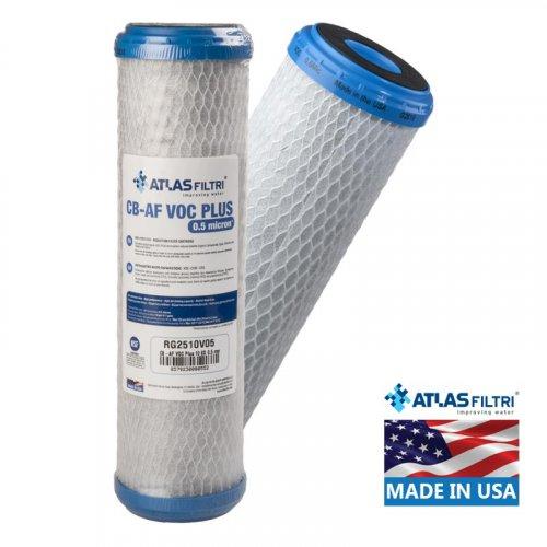 ATLAS FILTRI CB-AF VOC Plus SX 0.5μm Φίλτρο Συμπαγούς Ενεργού Άνθρακα (Made in Usa)