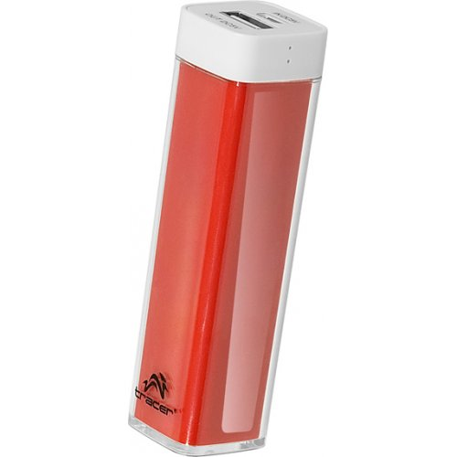 TRACER TRAB44379 Mobile Battery Powerbank 2600 mAh Red