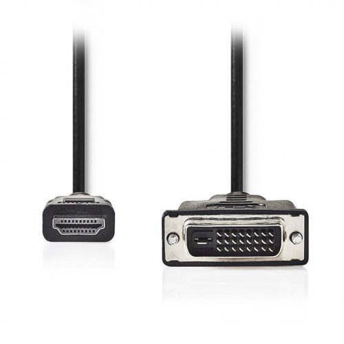NEDIS CCGP34800BK20 Καλώδιο HDMI αρσ. - DVI-D 24+1-Pin αρσ., 2m 0017726