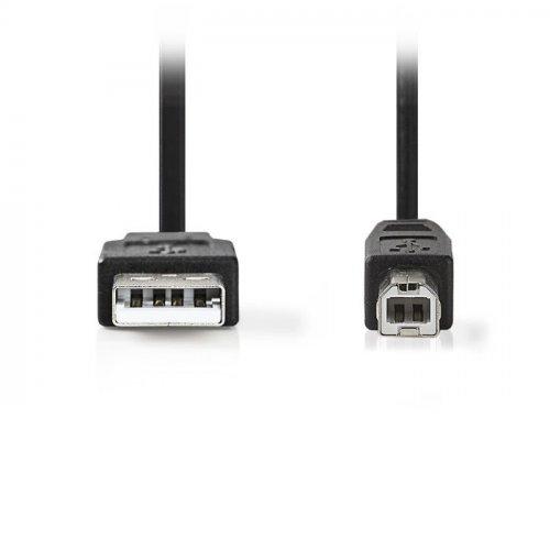 NEDIS CCGT60100BK30 Καλώδιο USB 2.0 A αρσ.- B αρσ., 3m 0017727