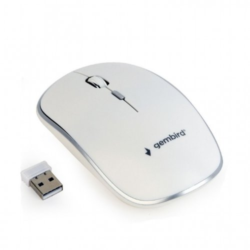 GEMBIRD MUSW-4B-01-W WIRELESS OPTICAL MOUSE WHITE