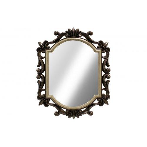 HOMEPLUS 01.09.0126 Πολυμορφικός Πλαστικός Καθρέφτης Ασημί 75χ60 εκ. 0017092