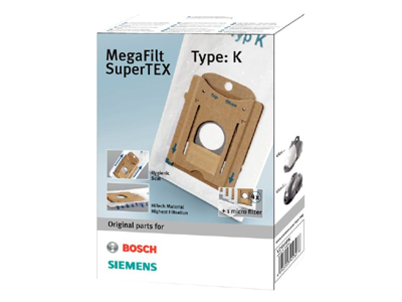 SIEMENS VZ41AFK (TYPE K) για Bosch/Siemens Σακούλες Ηλεκτρικής Σκούπας