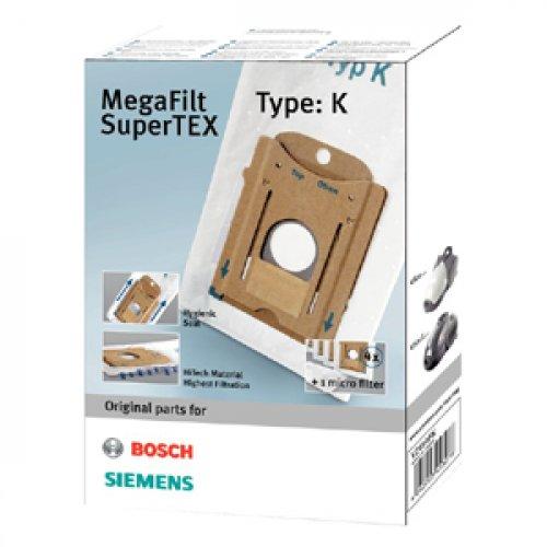 SIEMENS VZ41AFK (TYPE K) για Bosch/Siemens Σακούλες Ηλεκτρικής Σκούπας 100146