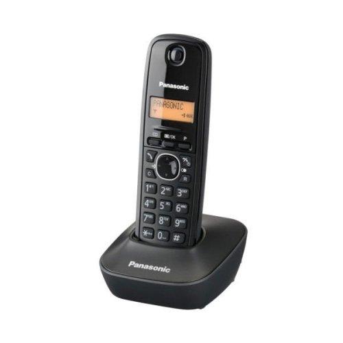PANASONIC KX-TG1611GRH Ψηφιακό Ασύρματο Τηλέφωνο Μαύρο