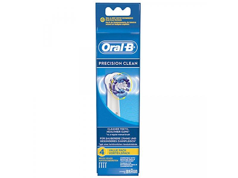 ORAL-B EB20-4 PRECISION CLEAN Ανταλλακτικό Οδοντόβουρτσας 4τμχ