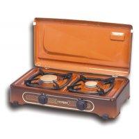 THERMOGAS Pn23 Συσκευή Υγραερίου 2 Εστίες Καφέ