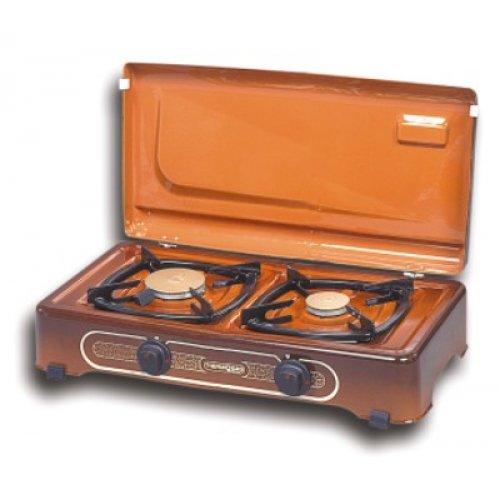 THERMOGAS Pn23 Συσκευή Υγραερίου 2 Εστίες Καφέ 012699