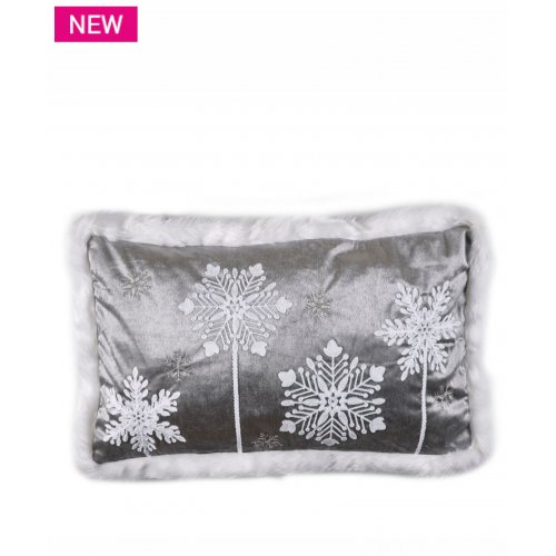 KENTIA Snow 201 Μαξιλάρι Διακοσμητικό Με Γέμισμα 35x60 0025221