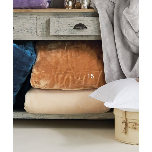 KENTIA Soft 15 Κουβέρτα Βελουτέ Μονή 160x220 0023996