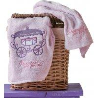 KENTIA Tiara Σετ 2 Τεμ Παιδικές Πετσέτες (Σώματος, Χεριών) 0020980