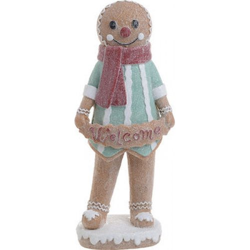 INART 2-70-497-0034 Gingerbread Man' Polyresin 0025154